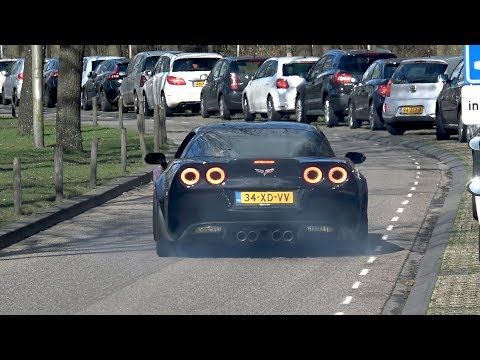 Sportcars Accelerating LOUD! Corvette C6 Z06, Audi S8, RS6, C63S & More!