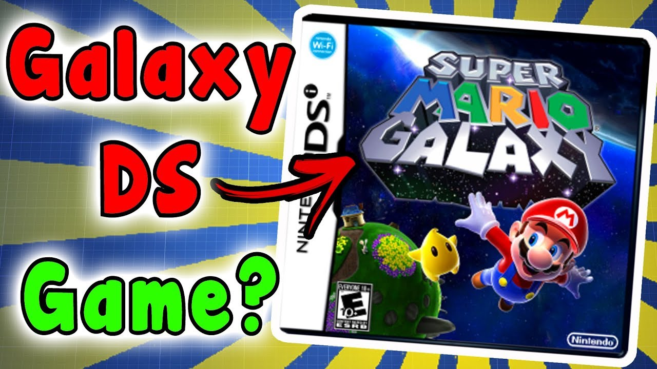 Super Mario Galaxy DS VERSION? - Video Game Mysteries/Rumors