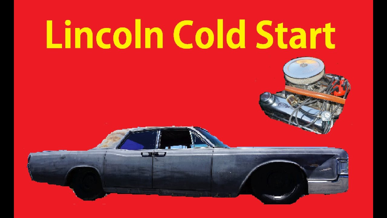 cold start barn find classic car lincoln mechanical starting old cars youtube. Black Bedroom Furniture Sets. Home Design Ideas