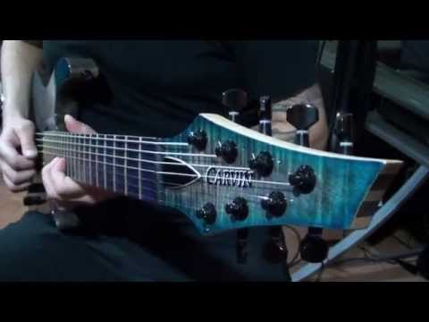 Kiesel / Carvin Guitars DC7X with Kiesel Lithium Pickups Demo