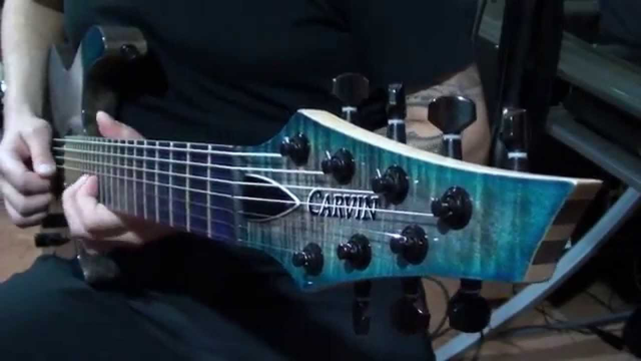 Kiesel Carvin Guitars Dc7x With Lithium Pickups Demo Youtube Humbucker Wiring Diagram