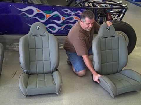 Corbeau Baja RS Reclining Seats for Dune Buggys and Baja Bugs