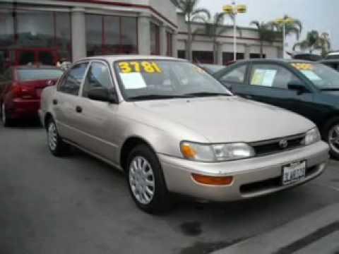 Toyota Corolla Le >> OrangeCounty 1995 Toyota Corolla - Buena Park 90621 - YouTube