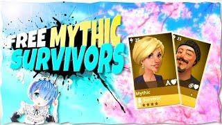*NEW* x2 Free Mythic Survivors | Quest Walkthrough | Fortnite Save The World