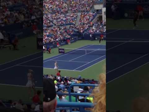 S. Williams vs Wozniacki Cincinnati 2014