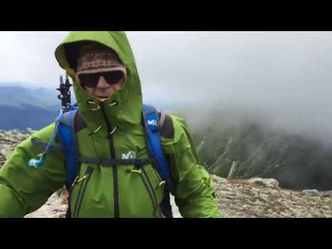 Windy day on Lion Head Trail, Mount Washington | New Hampshire Hiking