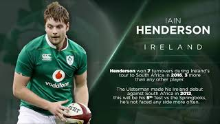 Irish Rugby TV: Ireland v South Africa Stat Attack
