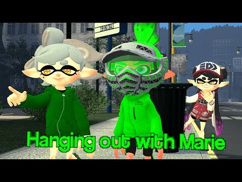 [Splatoon GMOD] Hanging out With Marie