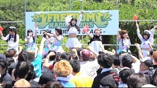 名古屋の野外フェス フリーダム2015 6/28 18:07〜オフショット入り キャ...
