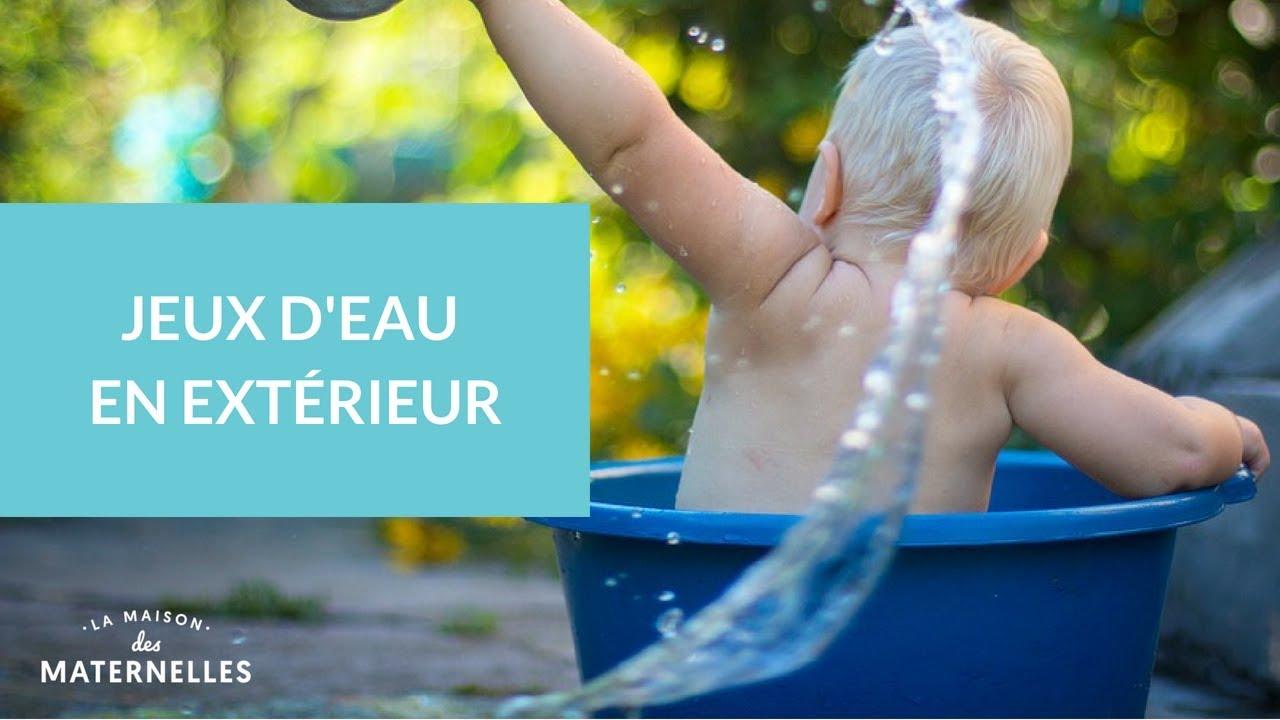 Jeux Deau En Extérieur La Maison Des Maternelles Lmdm Youtube