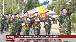 ZIUA ARMATEI SARBATORITA LA BUZAU