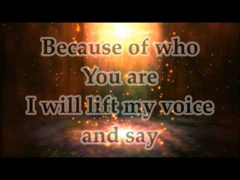 Martha Munizzi - Because Of Who You Are - Lyrics