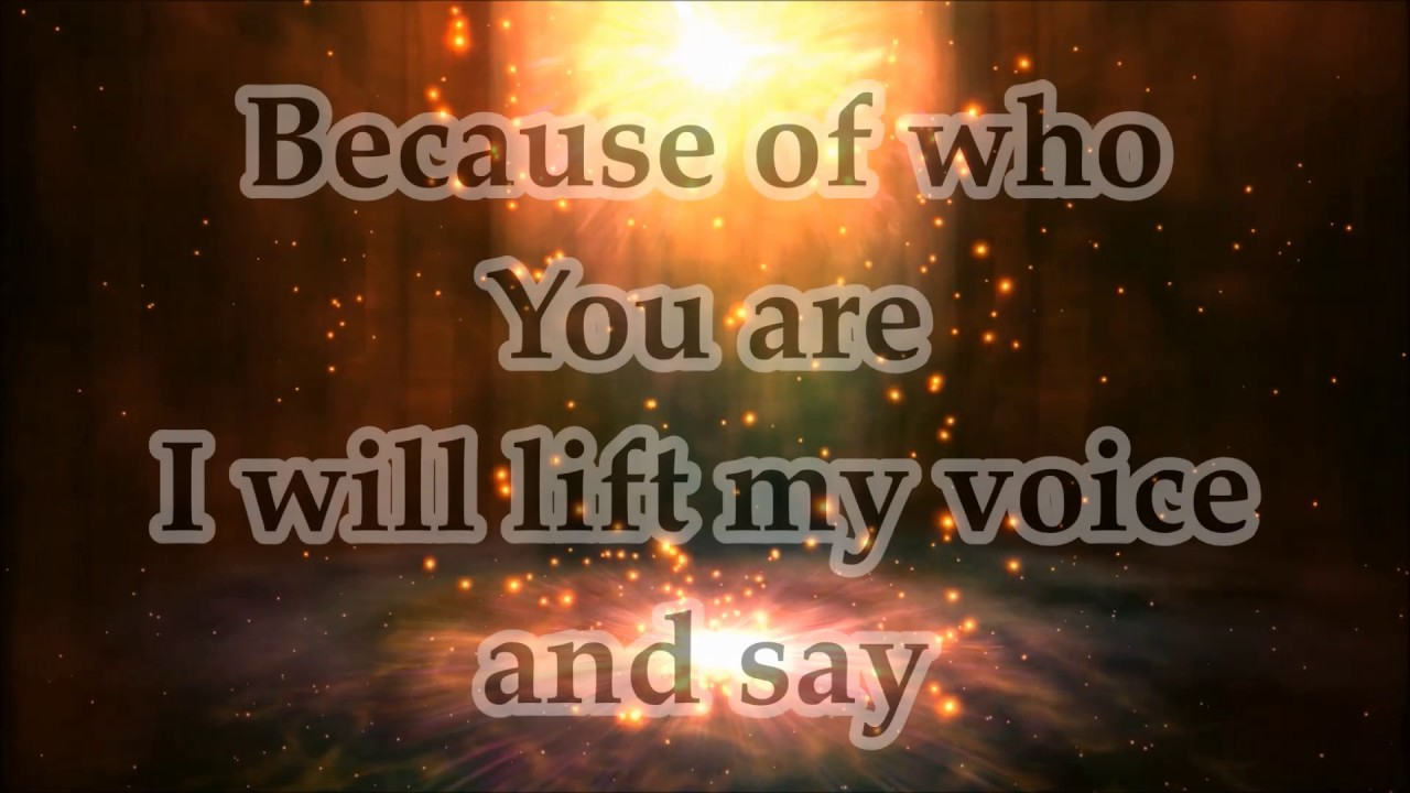 Lord We Worship You Because Of Who You Are