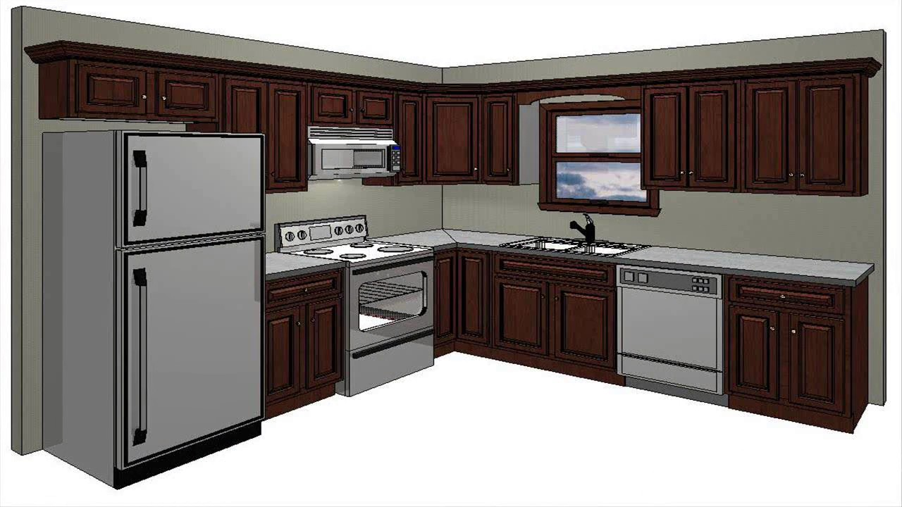 Beau Kitchen Design 10X10 Room