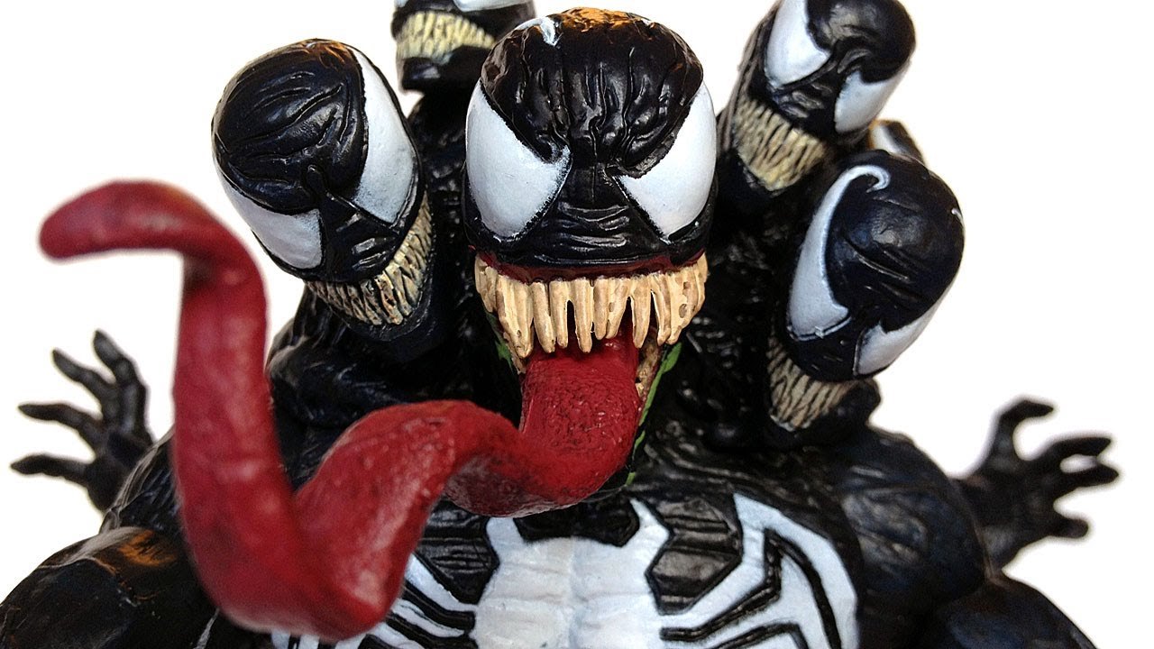 Marvel Select Venom Action Figure Review Youtube