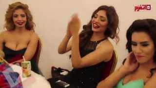 (اتفرج) لحظات حرجة في اختبارات ملكات جمال مصر (فيديو)
