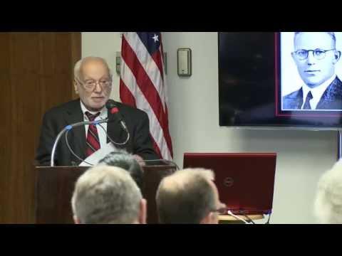 Ed Cray's Presentation on Earl Warren