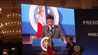 FHILIPPINES-RUSSIA BUSINESS FORUM Выступление Президента Республики Филиппины Родриго Дутерте