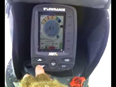 lowrance x67c machine