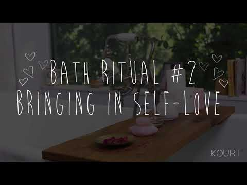 Kourtney Kardashian All-Natural Bath Time Rituals