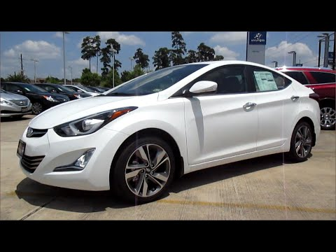 2014 Hyundai Elantra Limited W Navi Full Review Youtube