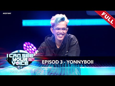 [LIVE] I Can See Your Voice Malaysia (Musim 4) Episod 3 - Yonnyboii | #ICSYVMY