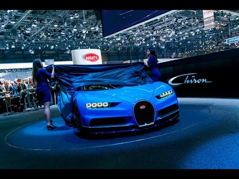 Bugatti Chiron: World Premiere – Press Conference Geneva International Motor Show 2016