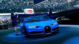Bugatti Chiron: World Premiere – Press Conference Geneva International Motor Show 2016