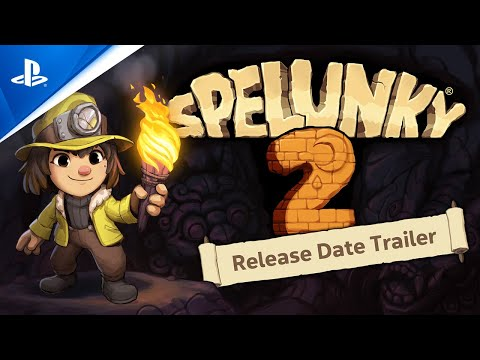 Spelunky 2 - State of Play Release Date Trailer | PS4