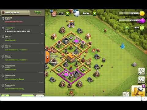 Recruiting Members  (Clash Of Clans)