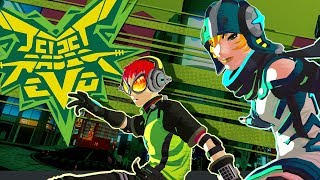 Jet Set Radio Evolution: Visual Proof of Concept - Dinosaur Games