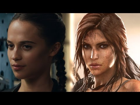 Tomb Raider (2018) - Game vs. Movie Trailer Comparison