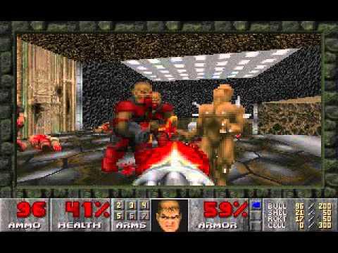 Doom 2 Chaingunner Perforation Youtube