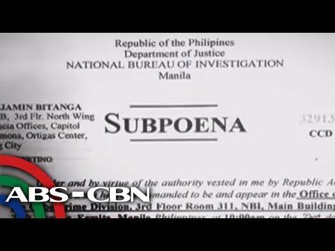 NBI subpoenas Rappler boss, ex-reporter over cybercrime complaint