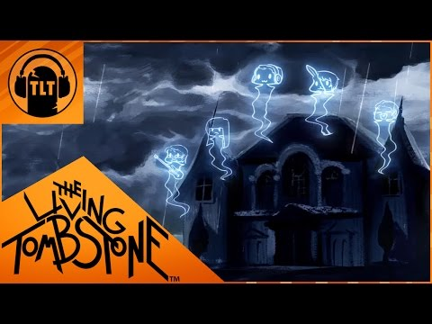 The Living Tombstone - Grim Grinning Ghost (feat Crusher P + Corpse Husband) - Halloween Song