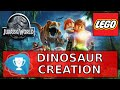 Lego Jurassic World Dinosaur Creation - Went and Made a new Dinosaur Trophy
