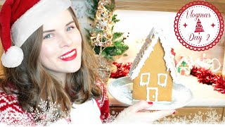 Baking a Gingerbread House! GF | Vlogmas Day 2 | Jenny E