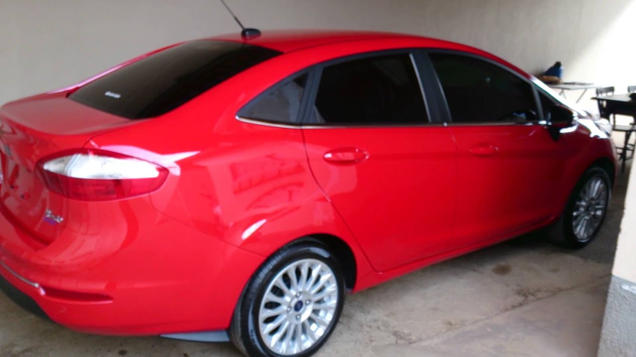 Ford Fiesta Sedan >> New Fiesta Sedan 2014 Vermelho Arizona - YouTube