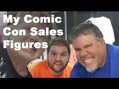My SLC Comic Con Gross Revenue - Video #6