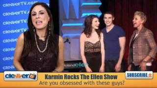 Karmin Rock The Ellen DeGeneres Show