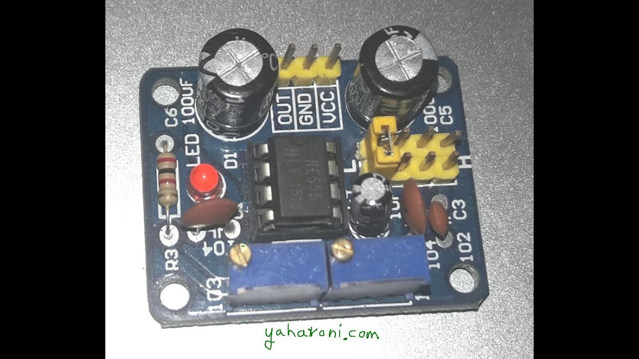 How To Fix Duty Cycle Controller With Ne555 Timerpwm Control From Oscillator Fixed Frequency And Variable Circuit Ebay