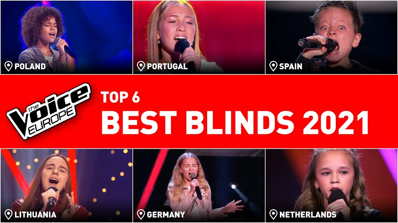 The BEST Blind Auditions of The Voice KIDS in 2021! | TOP 6