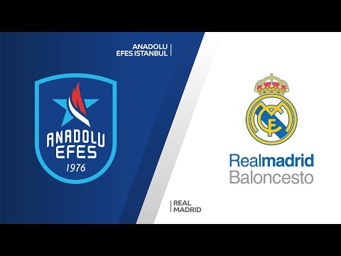 Anadolu Efes Istanbul - Real Madrid Highlights | Turkish Airlines EuroLeague, RS Round 17