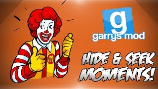 Garrys Mod Hide & Seek Funny Moments! - Party Meals, Cheating Like A Pro, Nanners Bribery & More!