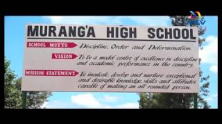 Report on Murang'a high school 'forced harambee' to be released next week