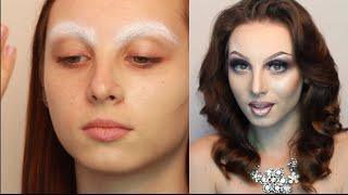 Сценический (театральный) макияж. Урок  №44