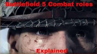 Battlefield V combat roles