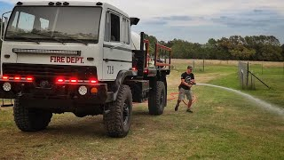 I Built the Pumper Truck!!!!! Master Chief is Alive!!!