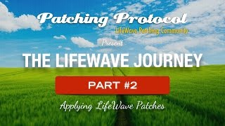 Applying Lifewave Patches