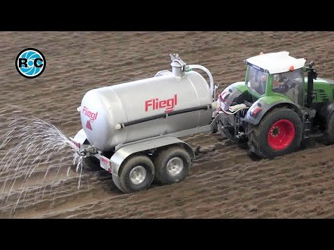 RC TRACTOR SLURRY ACTION - Field Days Bocholt Germany